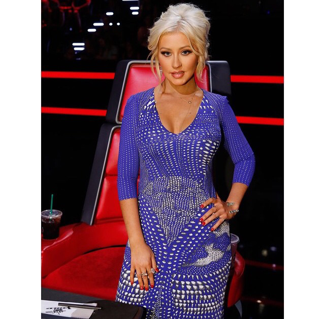 Los mejores outfits de Cristina Aguilera en The Voice