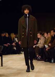 Burberry Menswear January 2016 Collection - Look 10