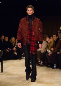 Burberry Menswear January 2016 Collection - Look 12