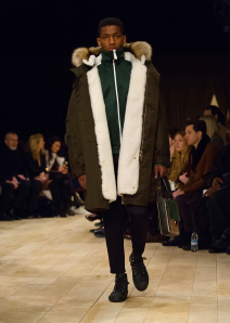 Burberry Menswear January 2016 Collection - Look 14
