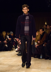 Burberry Menswear January 2016 Collection - Look 20