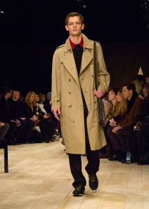 Burberry Menswear January 2016 Collection - Look 24