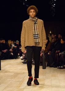 Burberry Menswear January 2016 Collection - Look 27